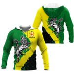 Jamaica - Lion Of Judah On Top Hoodie HD02112