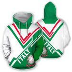 Ligerking™ Italy All Over Hoodie - Drift Version HD01965