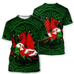 Wales Cymru Dragon T-shirt HD01555