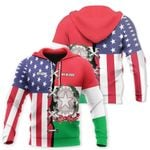 Ligerking™ Italy All Over Print Hoodies HD02156