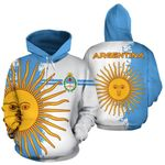 Ligerking™ Argentina Flag Hoodie - Mystic Style HD01844