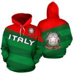 Ligerking™ Italy Flag Hoodie - Vivian Style HD01954