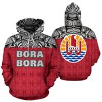 Ligerking™ Bora Bora All Over Hoodie HD02043