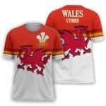 Wales Cymru (Welsh) Active T-shirt HD01554