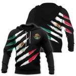 Mexico Inside Me All Over Hoodie HD02438