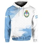 Ligerking™ Argentina Sport Design Pullover Hoodie HD01819