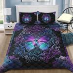 Mandala Butterfly Quilt Bedding Set HD02321