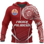 Ligerking™ French Polynesia Active Special Hoodie HD01981