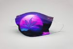 Ligerking™ 420 Weed Leaf Cloth Face Coverings HD01525
