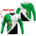 Ligerking™ Jamaica Personalized Name Hoodie HD03063