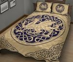 Wales Quilt Bedding Set - Welsh Dragon Quilt Bed HD02368