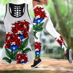 Ligerking™ Puerto Rico Tank top, Leggings 02862