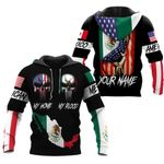 Ligerking™ Customize Mexico All Over Print Hoodies HD02640