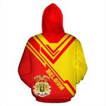 Belgium Ligerking ™ over print hoodie HD01949