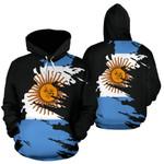 Ligerking™ Argentina Hoodie Flag Painting HD01859