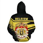 Belgium Ligerking ™ over print hoodie HD01938