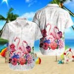 Ligerking™ Flamingo Polo Shirt All Over Print HD03104