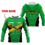 Ligerking™ Jamaica Flag Independence Day Hoodie HD03046
