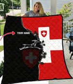 Ligerking™  Switzerland Quilt All Over Print HD02060