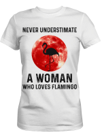 Ligerking™ A woman who loves flamingo HD03150