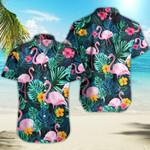 Ligerking™ Flamingo Polo Shirt All Over Print HD03095