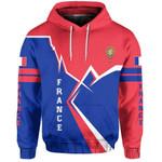 Ligerking™ France Pullover Hoodie Lightning HD02670