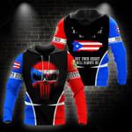 Ligerking™ Puerto Rico Hoodie 02163