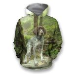 All Over Print Hunting Dog German Shorthaired HD02080