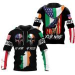 Ligerking™ Customize Ireland All Over Print Hoodies HD02653