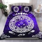 Purple Wiccan Cat Bedding Set HD02740