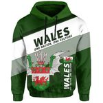 Wales Hoodie Flag Motto - Limited Style HD02119