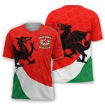 Wales Rugby Dragon T-shirt HD01551