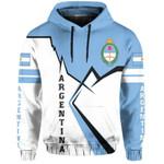 Ligerking™ Argentina Pullover Hoodie Lightning HD01822