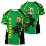 Jamaica T-shirt - The Great Lion HD02108