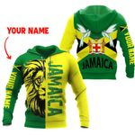 Ligerking™ Jamaica Lion - Doctor Bird Hoodie HD02691