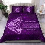 Purple Blessing Moon Bedding Set HD02750
