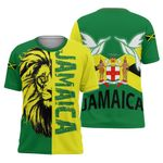 Ligerking™ Jamaica Lion - Doctor Bird T-Shirt HD02691