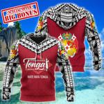 Ligerking™ Tonga hoodie Mate Ma'a Tonga HD02388
