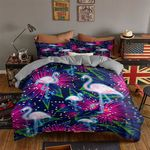 Ligerking™ Flamingo 3D Bedding set HD03103