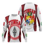 Tonga Hoodie - Polynesia Lauhala Tokelau Feletoa Coat Of Arms Hado7231S