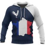Ligerking™ France Map Special Hoodie HD02669