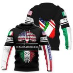 Ligerking™ Italy All Over Print Hoodies HD02677