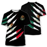 Mexico Inside Me All Over T-Shirt HD02438