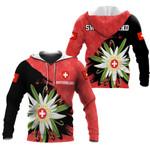 Ligerking™ Switzerland Hoodie Edelweiss DQH0063