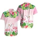 Ligerking™ Flamingo Polo Shirt All Over Print HD03105