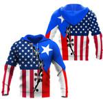 Ligerking™ Puerto Rico Hoodie 02870