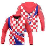 Croatia Flag Hoodie - Doma Style HD02128