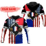 Ligerking™ Customize France All Over Print Hoodies HD02812