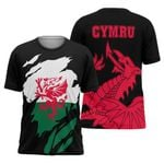 Wales In Me All Over T-shirt HD01634