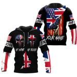 Ligerking™ Customize England All Over Print Hoodies HD02637
